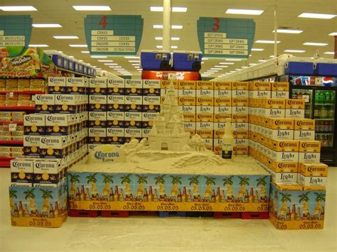 layout barang supermarket small sand sculpture