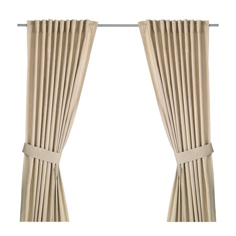 ikea curtain tie backs ingert curtains with tie backs 1 pair ikea