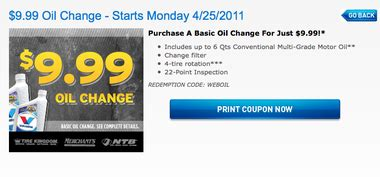 national tire battery  oil change  week   coupon alcom
