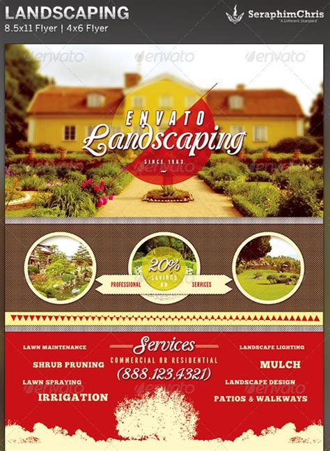 29 Lawn Care Flyers Psd Ai Vector Eps Free Premium Templates Landscaping Flyer Templates