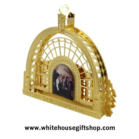 white house ornaments the 2016 barack obama white house ornament model of the east room window looking