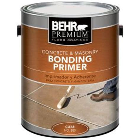home depot paint and primer in one colors behr premium 1 gal concrete masonry bonding primer