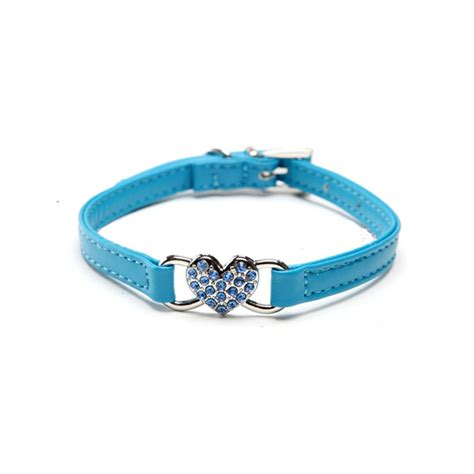 bling collars puppy collar pu leather rhinestone bling sell pet cat ebay