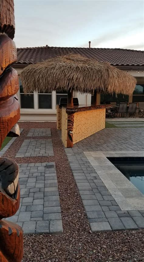 tiki hut thatch roofing affordable palapa structures tiki shacks and bars thatch