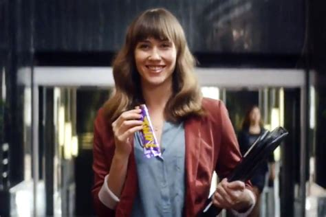 commercial model uk cadbury launches five ads to promote singles bars