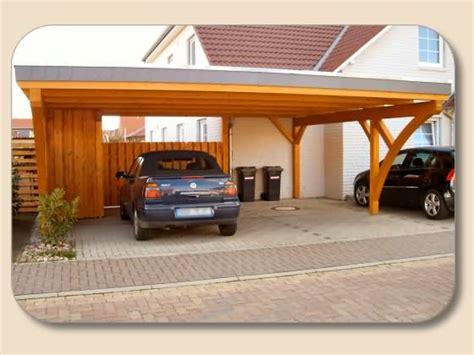 flachdach carport mit geräteraum flachdach doppelcarport nach ma 223 holzon de