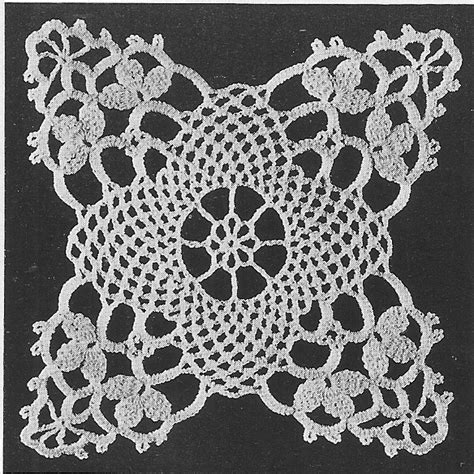 vintage lace pattern vintage lace crochet patterns free squareone for