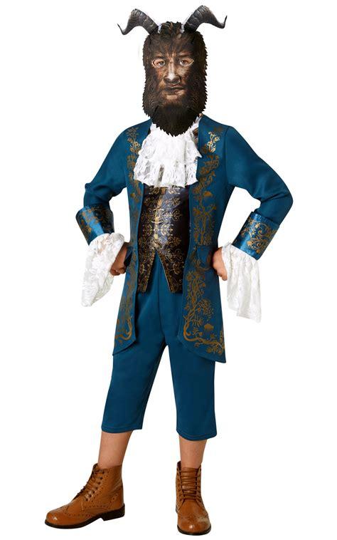 beast costume beast boys disney fancy dress and the beast childs book day costume ebay