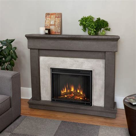 Fresno Electric Fireplace by Real Fresno 72 In Media Console Electric Fireplace