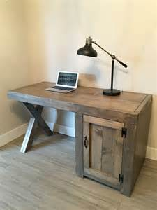 Wood Computer Desk Ideas Best 25 Rustic Desk Ideas On Rustic Computer