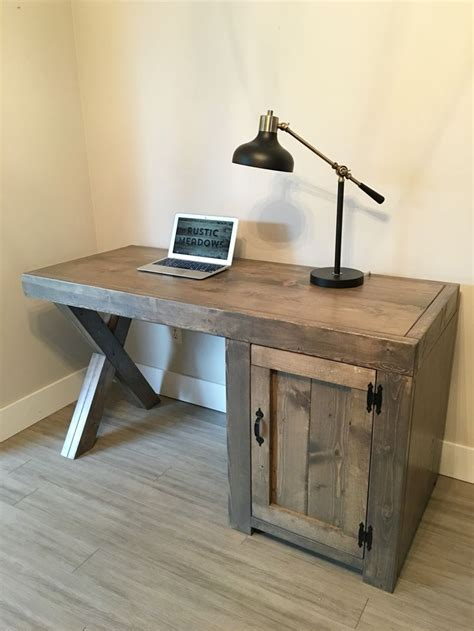 diy rustic computer desk rustic computer desks best 25 rustic desk ideas on