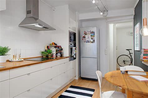 Swedish Kitchen Cabinets Charming Swedish Apartment Exhibiting An Original Floor Plan Freshome