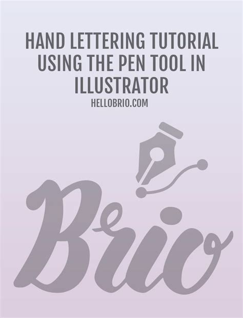 hand lettering tutorial book how to digitize hand lettering with the pen tool in