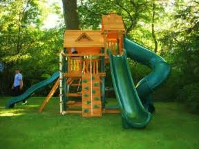 swing set installation included swing set installation nj playset installer cedar summit
