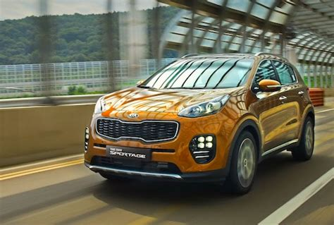 Korea Kia South Korea October 2015 New Kia Sportage In Top 5 Best