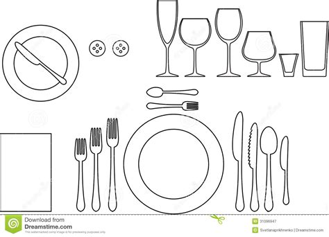 tableware royalty free stock photography image 31096947