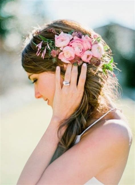 flower design in hair how to rock fresh flowers in your hair 65 ideas