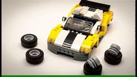 Lego Creator 3 In 1 31046 Fast Car Set Motorcar Truck Forklift Tractor lego creator 3 in 1 2016 set 31046 fast car stop motion speed build