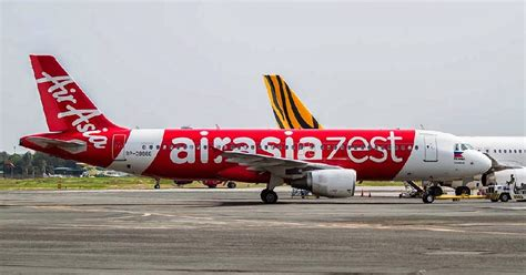 airasia zest flights airasia zest realigns operations plans expansion