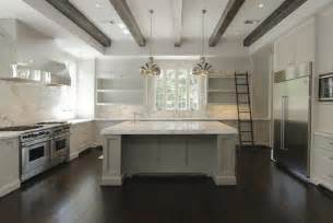 White Marble Kitchen Island by The Granite Gurus Whiteout Wednesday 5 White Kitchens