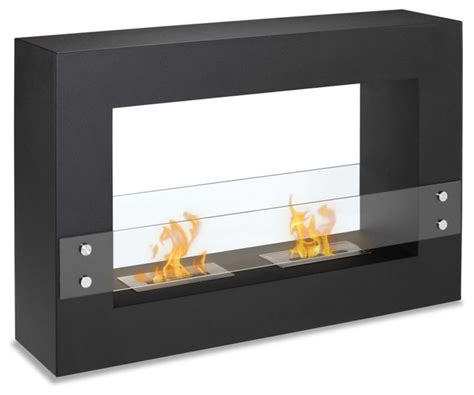 modern ethanol fireplaces ignis tectum freestanding ventless ethanol fireplace 47
