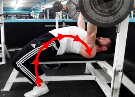 powerlifting bench press technique 9 tips for improving leg drive on bench press