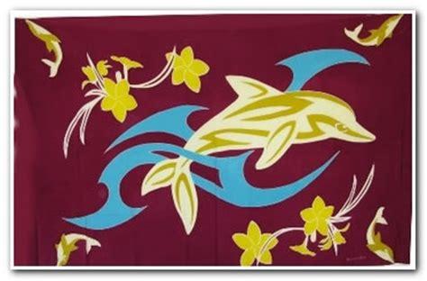 design batik flora fauna lukisan motif dan corak yang menjadi ciri batik bali