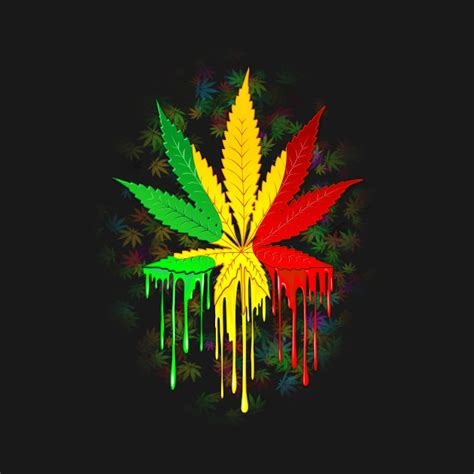 marijuana colors marijuana leaf rasta colors paint cool