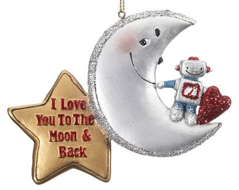 hallmark prnaments love you tomoon and back first christmsd i you to the moon back crescent moon
