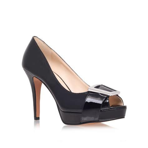 nine west black high heels nine west cassilina high heel court shoes in black lyst