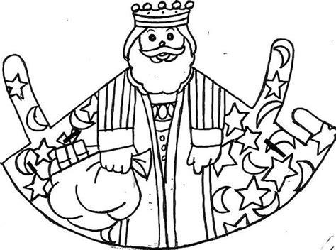 imagenes reyes magos para recortar colorear a los reyes magos manualidades infantiles