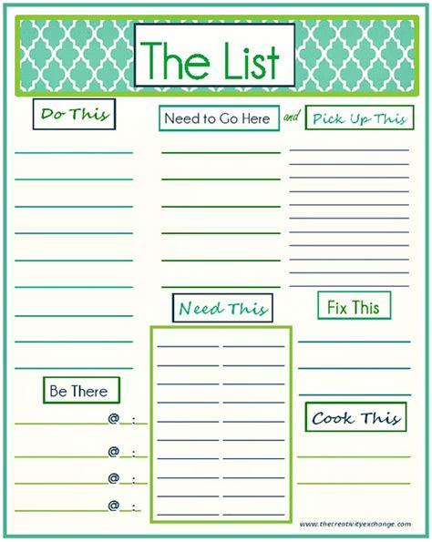 master to do list template 7 best images of printable master to do list master to