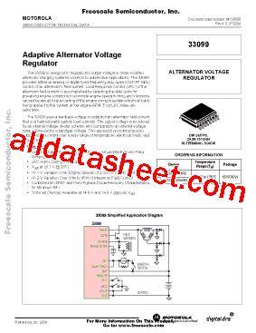 mc33099 datasheet pdf motorola inc