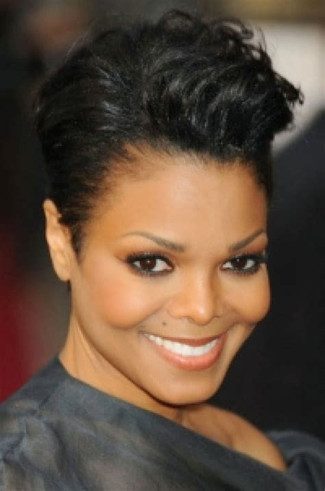 beautiful black women short hairstyle with sideburns gallery 17 coupes courte femme noire afro coiffure coupes pour