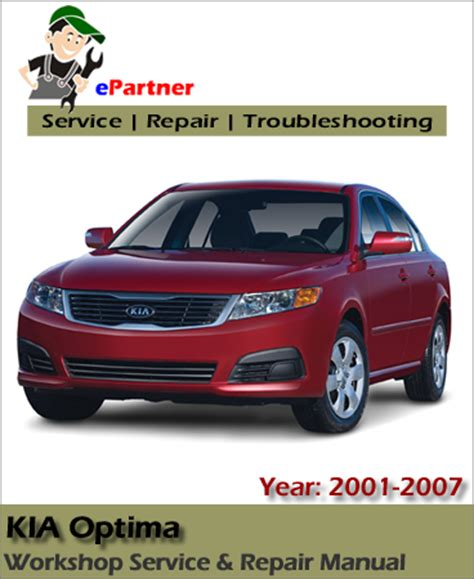 auto repair manual online 2001 kia optima seat position control kia optima service reapir manual 2001 2007 automotive service repair manual