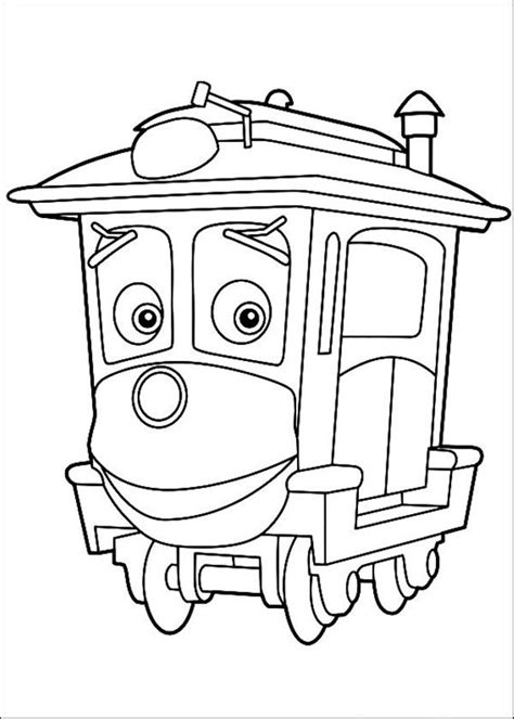 Chuggington Coloring Pages printable chuggington coloring pages coloring me