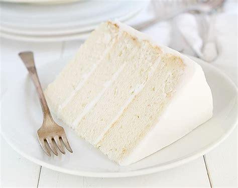 the perfect bakery style white cake i am baker