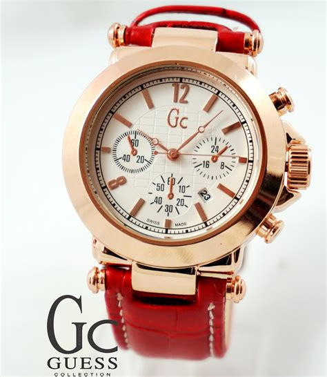 Murah Jam Tangan Gc Ctr1700 Gold guess collection gold merah kucikuci shop