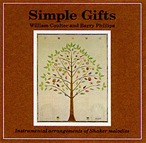simple gifts of simple gifts