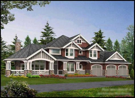 Four Gables House Plan shingle style house plans a home design with new england