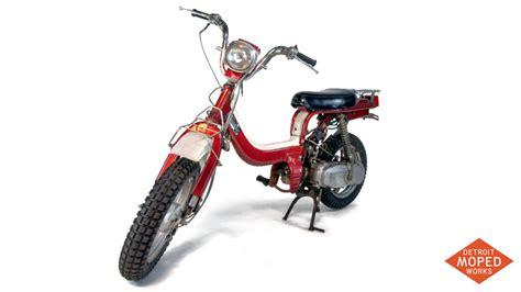 Suzuki Moped Parts 1982 Suzuki Fz50z Kickstart Noped Sold Detroit