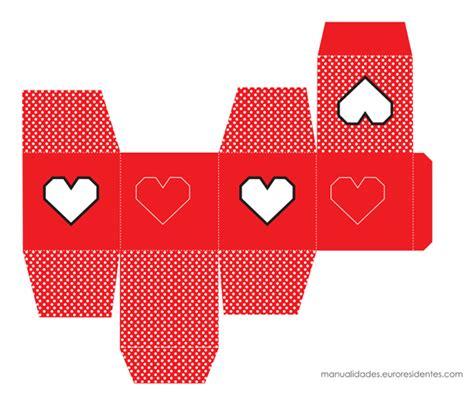 Pareja En San Valent 237 N Cajas Para Imprimir Gratis | moldes de cajitas para san valentin pareja en san valent