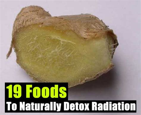 How To Detox From Nuclear Radiation by 19 Foods To Naturally Detox Radiation Shtf Prepping