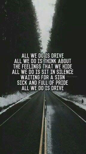 drive lyrics halsey drive halsey lyrics pinterest halsey songs and