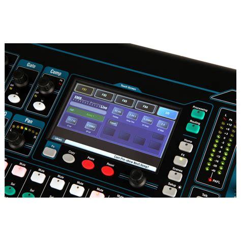Mixer Digital Allen Heath Qu 16 allen and heath qu 16 digital mixer chrome edition at