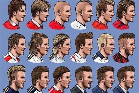 hairstyles through the years 25 marvellous david beckham hairstyles through the years
