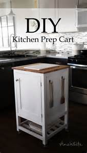 diy kitchen island cart white how to small kitchen island prep cart with compost diy projects