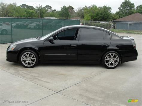 Super Black 2006 Nissan Altima 3 5 Se R Exterior Photo