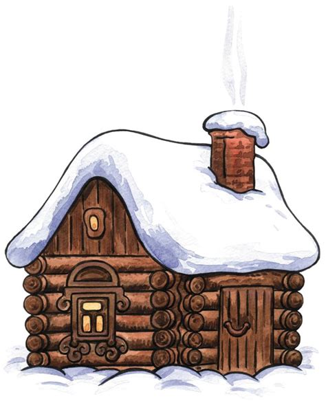 White Barn Candle Winter Cabin by Free Rustic Winter Cliparts Free Clip Free