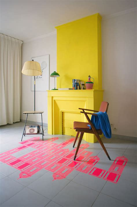 yellow fireplace color trend yellow the new neatural la la lovely